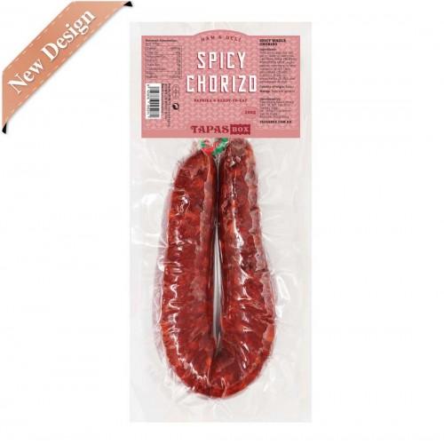 Whole Chorizo Spicy with parika